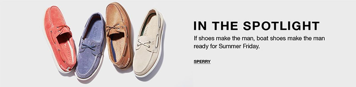 In The Spotlight, Sperry
