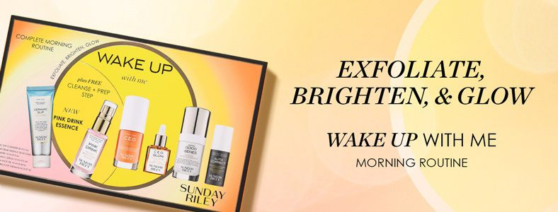 Exfoliate, Brighten, and Glow, Wake up With me, Morning Routine