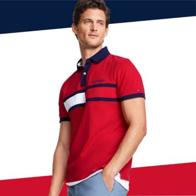 Tommy Hilfiger Men T shirts & Polo shirts Online Sale