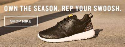 Own the Season, Rep Your Swoosh, Shop Nike