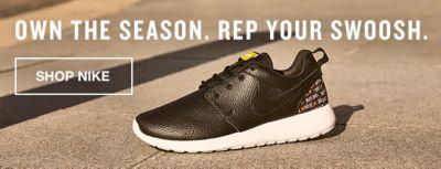 Own the Season, Rep Your Swoosh, Shop Nike