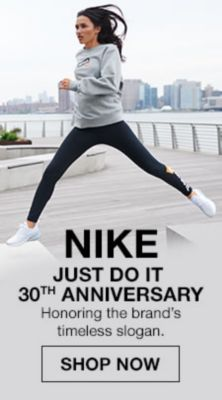 Nike Just do it 30th Anniversary, Honoring the brand's timeless slogan, Shop Now