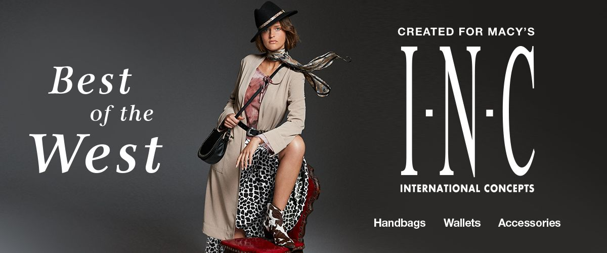 Best of the West, Created for Macy's, I.N.C, International Concepts, Handbags, Wallets, Accessories