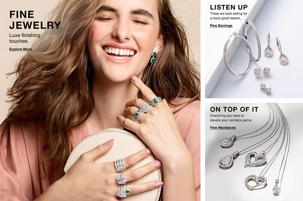 Fine Jewelry, Luxe finishing touches, Explore More, Listen up, These are best-selling for a (very) good reason, Fine Earrings, On Top of it, Everything you need to elevate your necklace game, Fine Necklaces