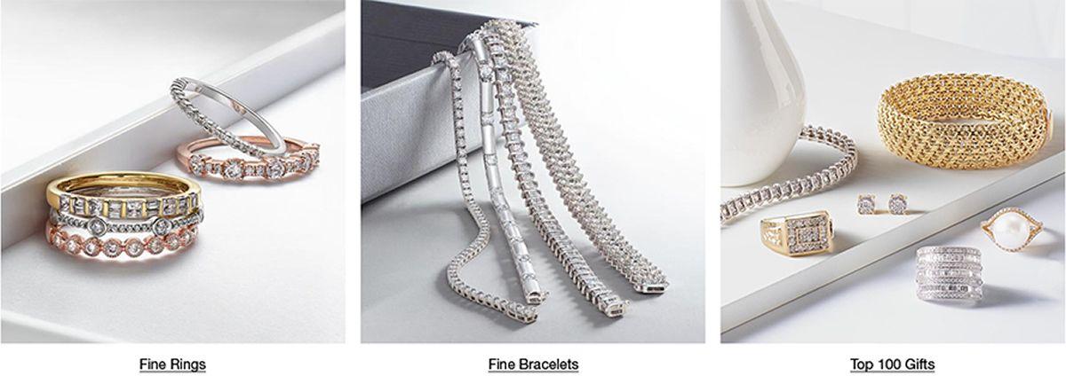Fine Rings, Fine Bracelets, Top 100 Gifts