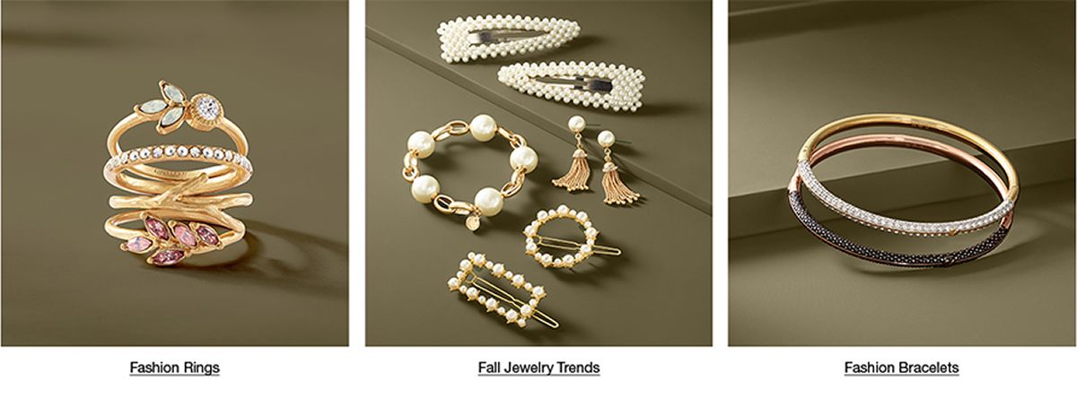 Fashion Rings, Fall Jewelry Trends, Fashion Bracelets