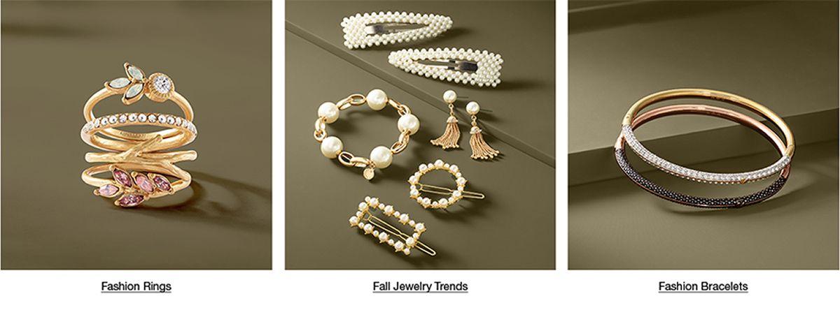 Fashion Rings, Fall Jewelry Trends, Fashion Bracelets