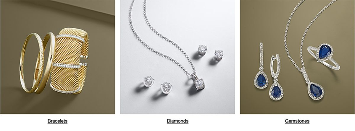 Bracelets, Diamonds, Gemstones