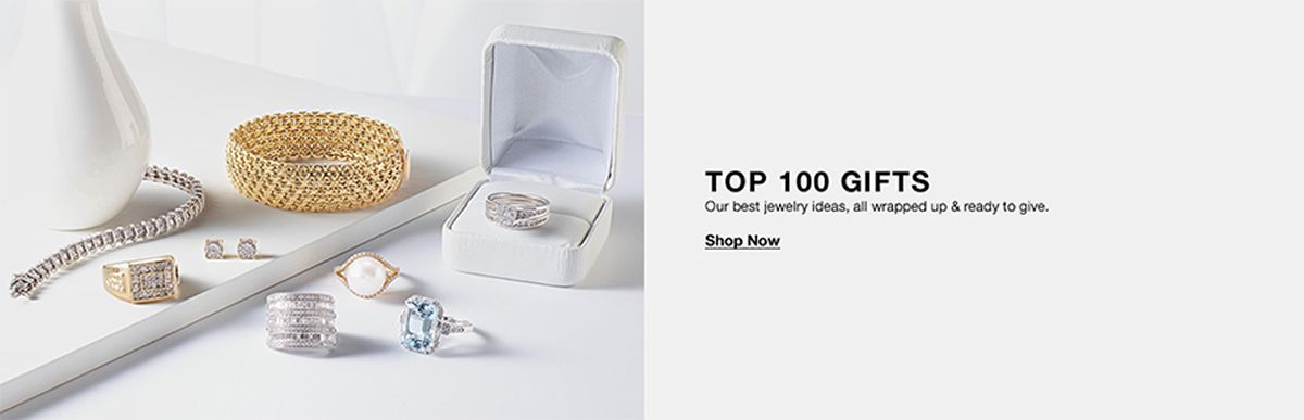 Top 100 Gifts, Our best jewelry ideas, all wrapped up and ready to give, Shop Now
