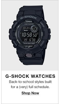 G-Shock Watches, Back-to-school styles built for a (very) full schedule, Shop Now