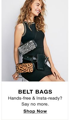 Belt Bags, Hands-free and Insta-ready? Say no more, Shop Now