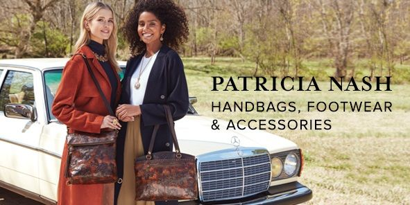 Patricia Nash, Handbags, Footwear and Accessories
