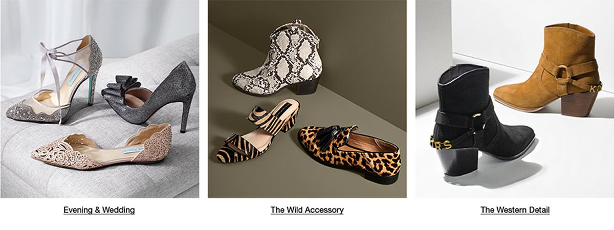 Evening and Wedding, The Wild Accessory, The Western Detail