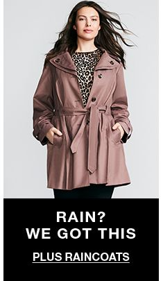 Rain? We Got This, Plus Raincoats