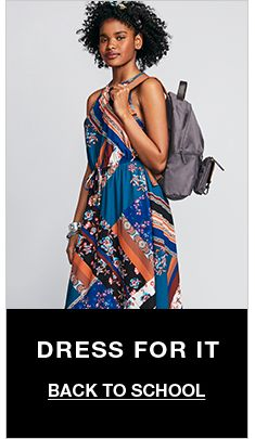 Dress For it, Back to School