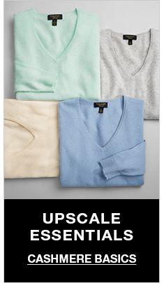Upscale Essentials, Cashmere Basics