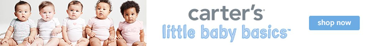carter's Little baby basics, Shop Now