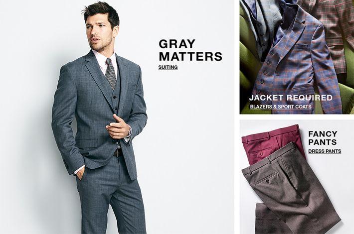 b86725a3 Men's Dress Clothes - Macy's