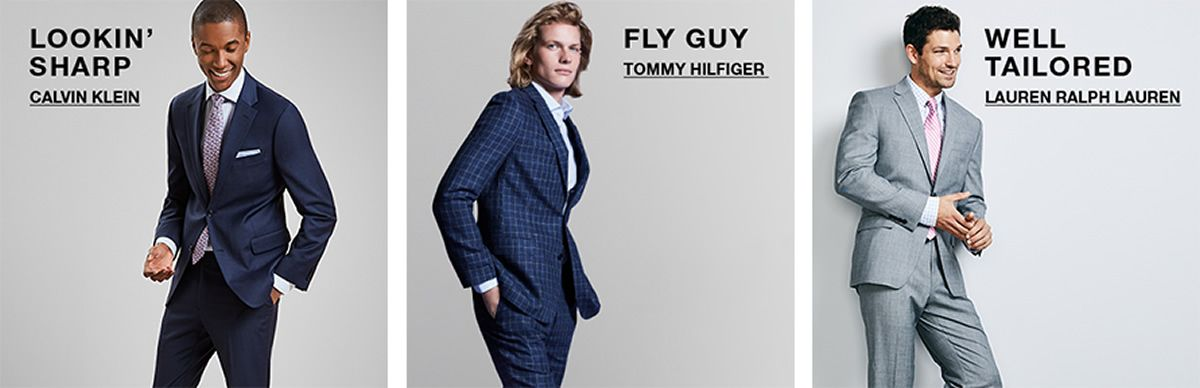 Lookin Sharp Calvin Klein, Fly Guy, Tommy Hilfiger, Well Tailored, Lauren Ralph Lauren