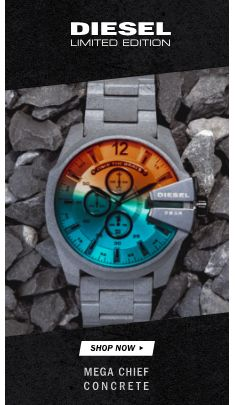 Diesel Limited Edition, Shop Now, Mega Chief Concrete