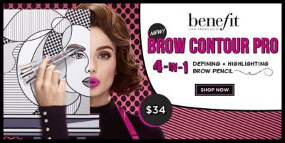 Benefit, Brow Contour Pro 4-In-1, Defining + Highlighting Brow Pencil, Shop Now