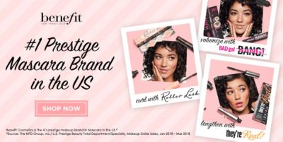 Benefit, 1 Prestige Mascara Brand in the Us, Shop Now