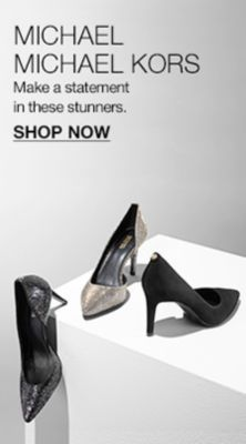 Michael Michael Kors, Make a statement in stunners, Shop Now