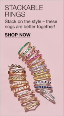 Stackable Rings, Stack on the style-these rings are better together! Shop Now