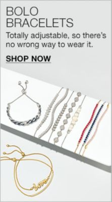 Bolo Bracelets, Totally adjustable, so there's no wrong way to wear it, Shop Now