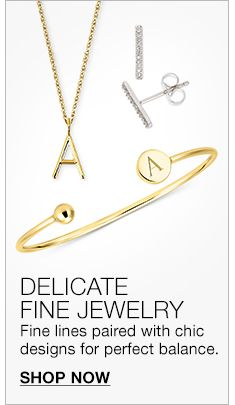 Delicate Fine Jewelry Lines Paired With Chic Designs For Perfect Balance Shop Now