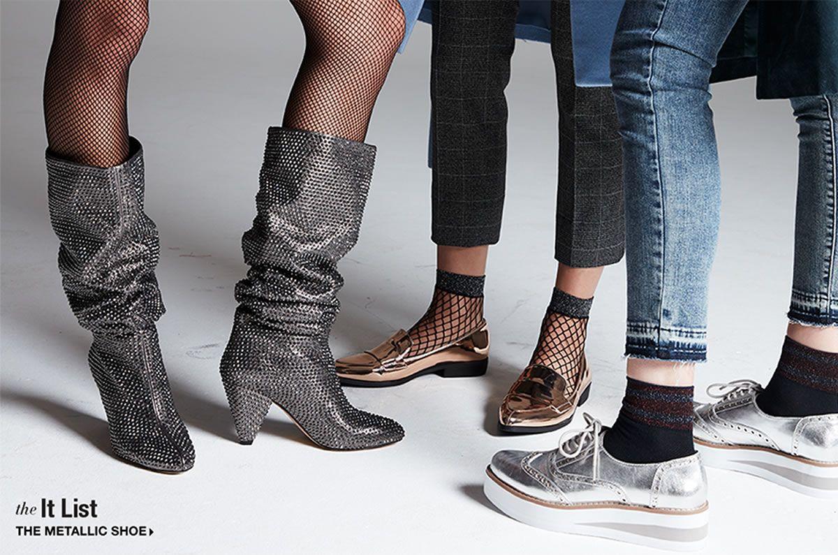 The It List Metallic Shoe