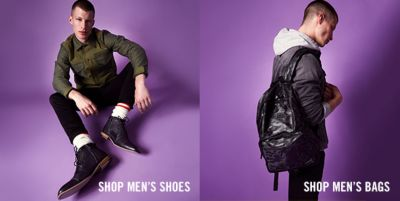 Shop Men's Shoes, Shop Men's Bags