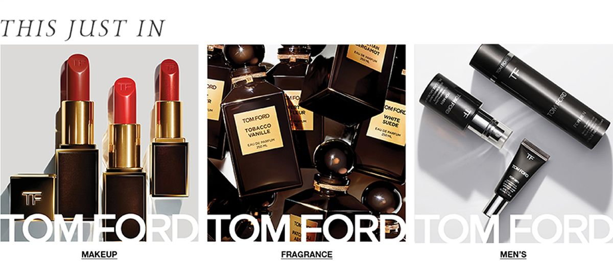 This Just in, Tom Ford, Makeup, Fragrance, Men's