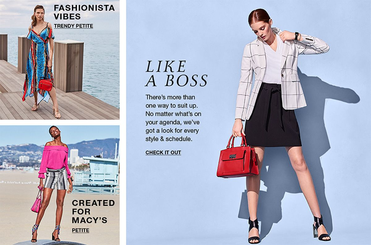 Fashionista Vibes, Trendy Petite, Created for Macy's, Petite, Like a Boss, Check it Out