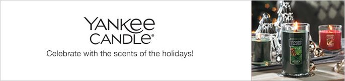 Yankee Candle, Celebrate with the scents of the holiday!