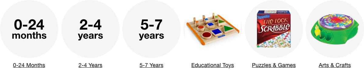 0-24 Months, 2-4 Years, 5-7 Years, Educational Toys, Puzzles and Games, Arts and Crafts