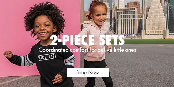 2-Piece Sets, Coordinated comfort for active little ones, Shop Now
