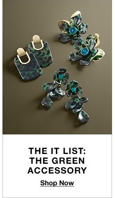 The It List, The Green Accessory, Shop Now