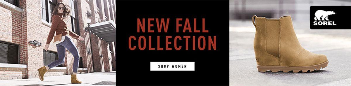 New Fall Collection, Shop Women, Sorel