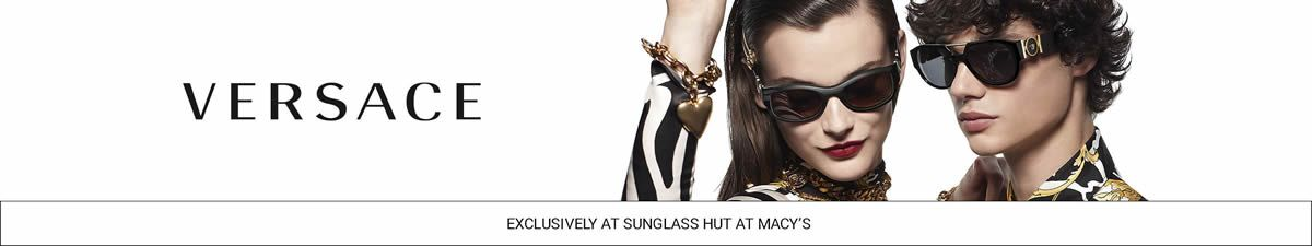 Versace, Exclusively at Sunglass Hut at Macy's