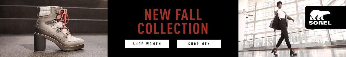 New Fall Collection, Shop Women, Shop Men