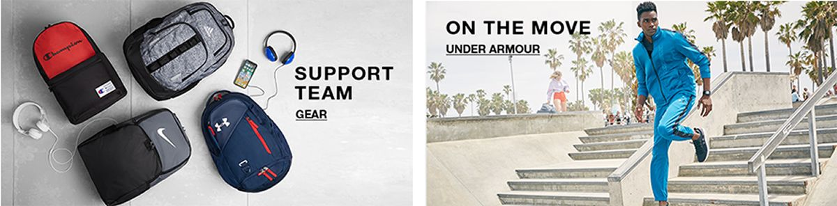 Support Team, Gear, on The Move, Under Armour