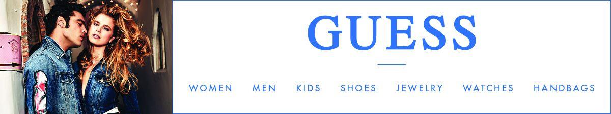 Guess, Women, Men, Kids, Shoes, Jewelry, Watches, Handbags