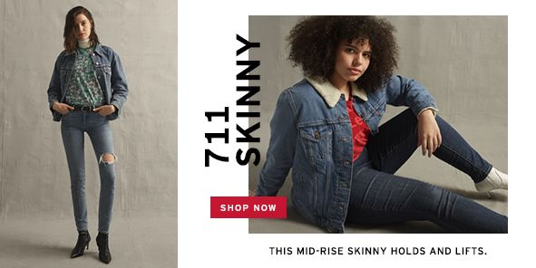 711 Skinny, Shop Now, This Mid-Rise Skinny Holds and Lifts