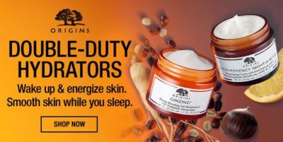 Double-Duty Hydrators, Wake up and energize skin, Smooth skin while you sleepm, Shop Now