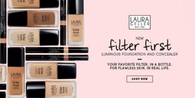 Filter First, Luminous Foundation and Concealer, Your Favorite Filter in a Bottle For Flawless Skin, In Real Life, Shop Now