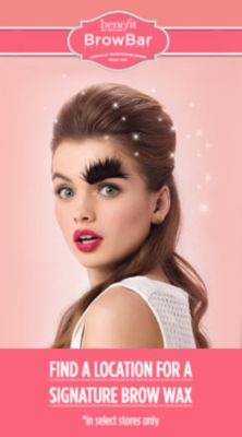 Benefit Brow Bar, Find a Location For a Signature Brow Wax