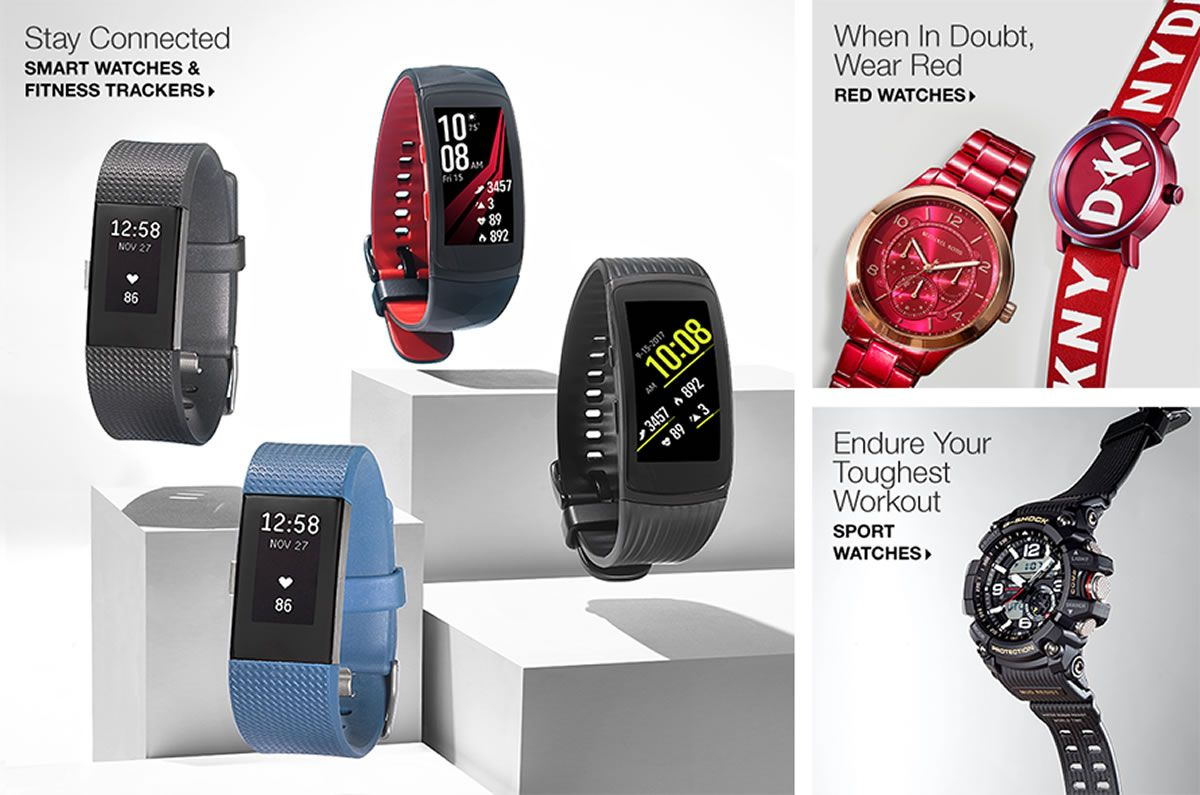 Watches For Men and Women - Macy's