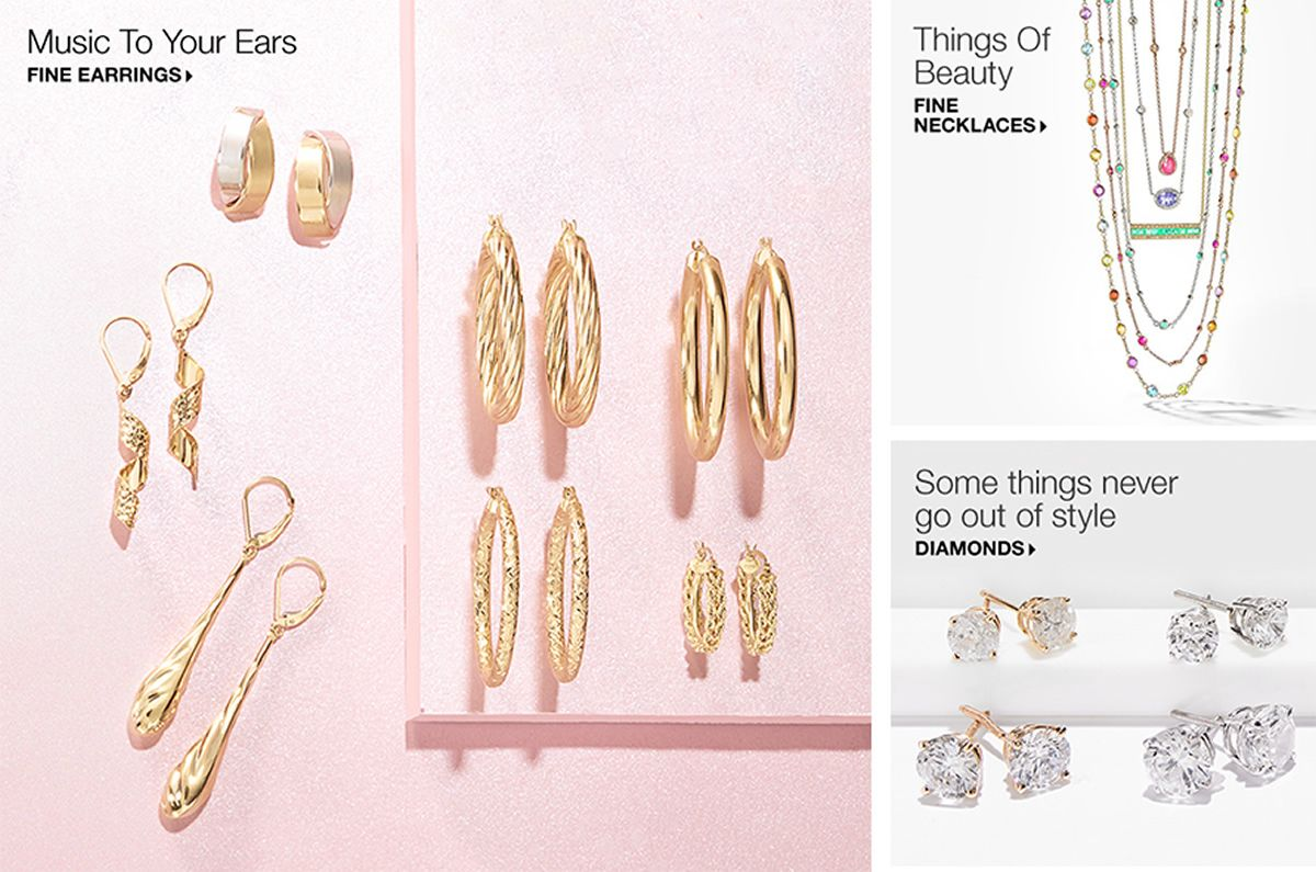 Music To Your Ears Fine Earrings Things Of Beauty Necklaces Some