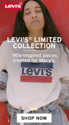Levi's, Levi's Limited Collection, 90s-inspired pieces created for Macy's, Shop Now